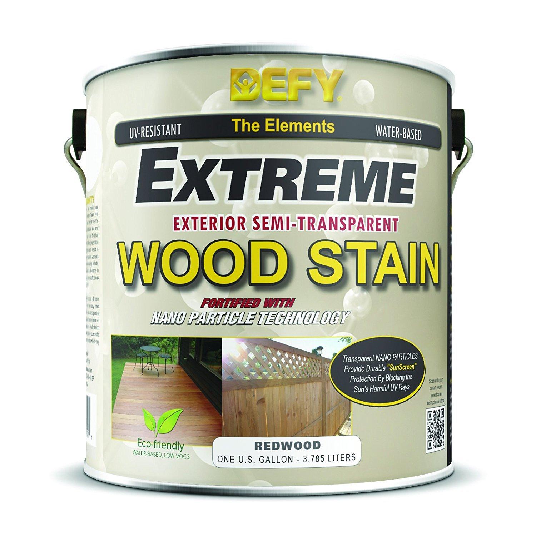 DEFY Extreme Exterior 木製品ステイン 1 Gallon 300419 1 gallon レッドウッド レッドウッド 1 gallon B00BW8J5IC