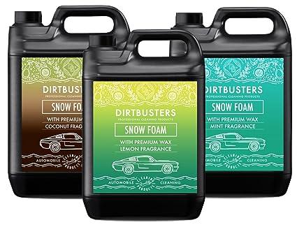 Dirtbusters Ph Neutro Espuma De Nieve De Coco Y Limón Nieve Espuma Champú Limpiador