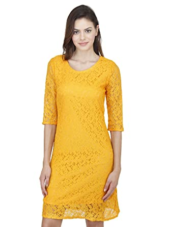 a8bc0bda1b62 Mayra Women s Net Partywear Dress  Amazon.in  Clothing   Accessories