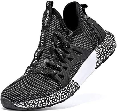 Girls Boys Kids Sneakers Cushion Breathable Running Sports School Shoes Size