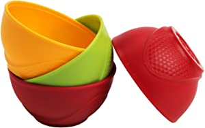 Home Presence Silicone Pinch Bowls(Set Of 4)