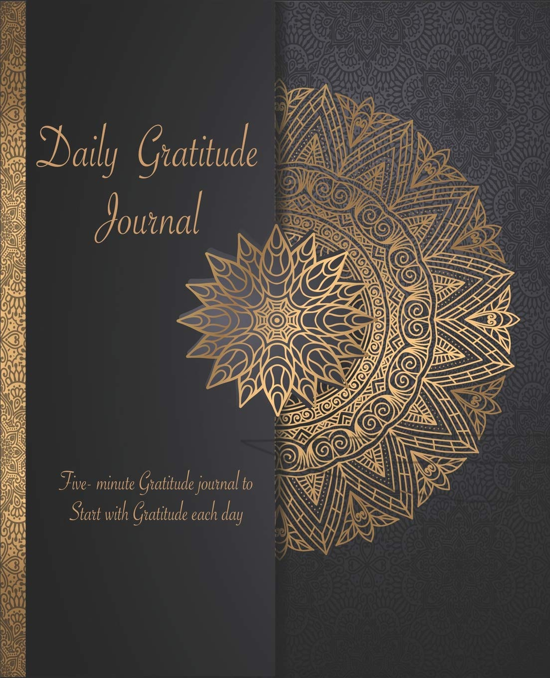 Daily Gratitude Journal: A Five Minute Gratitude Journal   52 week Positivity Diary to Cultivate an Attitude of Gratitude for Achieving fulfilled life