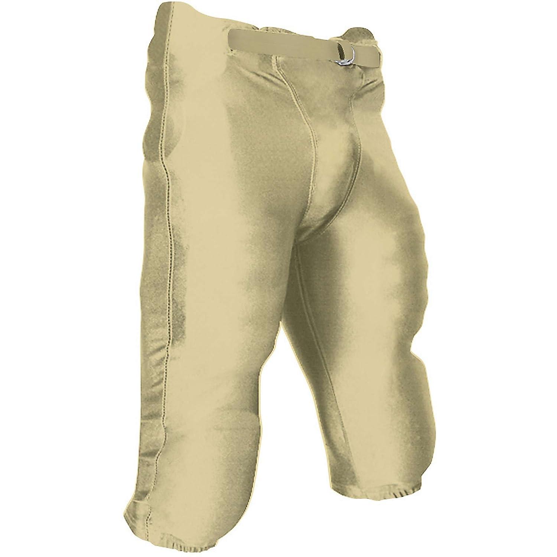 Champro パッド付きパンツ ユース アメフト用 B00GDB8WPU ゴールド(Vegas Gold) XL XL|ゴールド(Vegas Gold)
