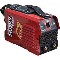 RAIKER Mini soldadora tipo inverter marca SWEDISH HUSKY POWER que trabaja con corriente 110V/105A - 220V/140A lo que la…