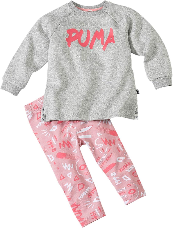 PUMA Minicats Girls Aop Set Fl - Chándal Unisex niños: Amazon.es ...