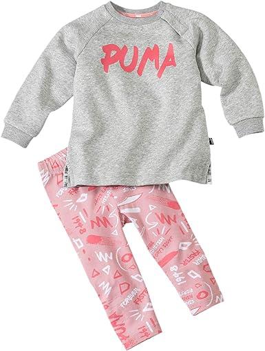 PUMA Minicats Girls AOP Set FL Chándal, Unisex niños: Amazon.es ...