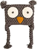 New Krochet Kids Kids Toddler The Hoot Beanie Cotton Acrylic