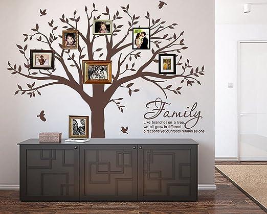 Vinilos Decorativos 3D De Pared Decoracion Para Sala Habitacion Arbol Familiar