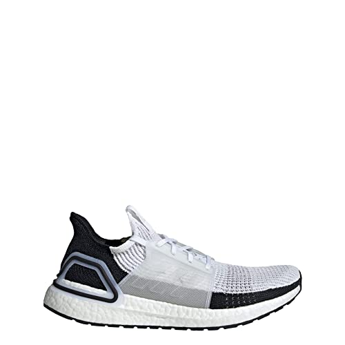 adidas Ultra Boost 19 White White Grey Two