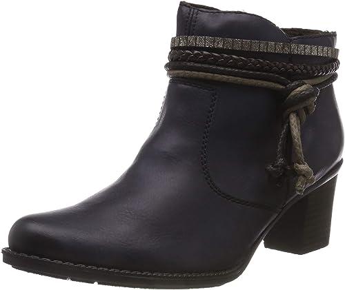 Rieker L7658 14 Schuhe Damen Stiefeletten Ankle   real
