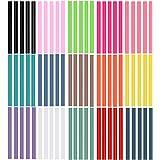 Ewparts 色とりど ホットスティック高温 グルースティック15色セット 75本入 7mm * 100mm (カラード(75本彩色))