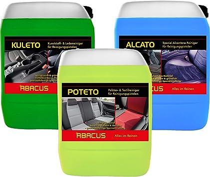 Abacus Tornador Reiniger Set 1x 5 Liter Alcato 1x 5 Liter Kuleto 1x 5 Liter Poteto Gebrauchsfertige Reiniger Für Reinigungspistolen 7361 Auto