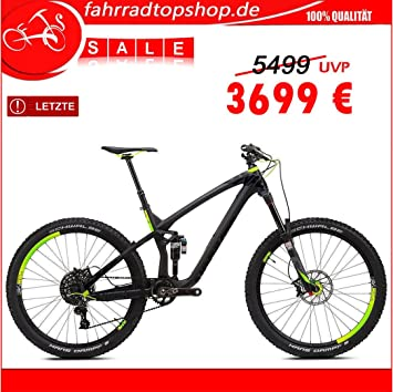 NS Bikes snabb Carbon 650B Enduro Pro 27,5 11spd SRAM X1, Black ...