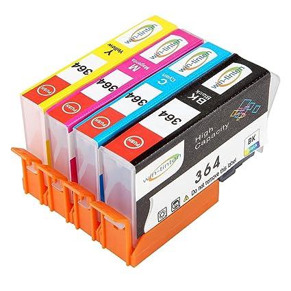 Win-TinTen - Cartucho de Tinta Compatible con HP 364XL para ...
