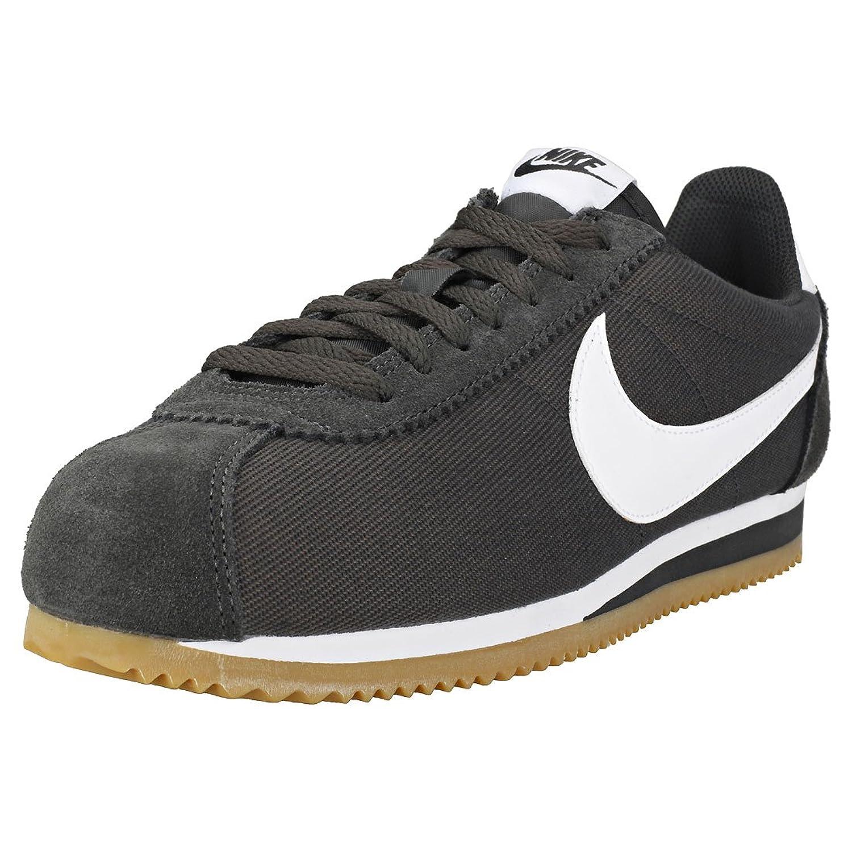 Zapatillas Nike – Classic Cortez Nylon Carbón/Blanco/Caramelo Talla: 46 -