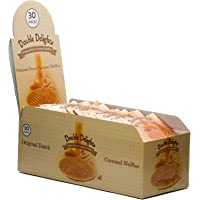 Double Delights Pack of 30 Caramel Waffles , 32 gms