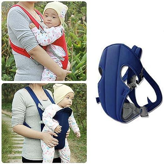 Rot Sicherheit Babytrage ergonomische Kindertrage Leicht Babybauchtrage bequem R/ückentrage f/ür Baby S/äuglinge Kleinkinder unter 16KG