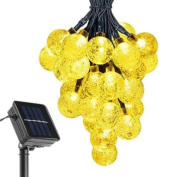 Victsing 30er led solar lichterkette 20ft wasserdicht: amazon.de ...