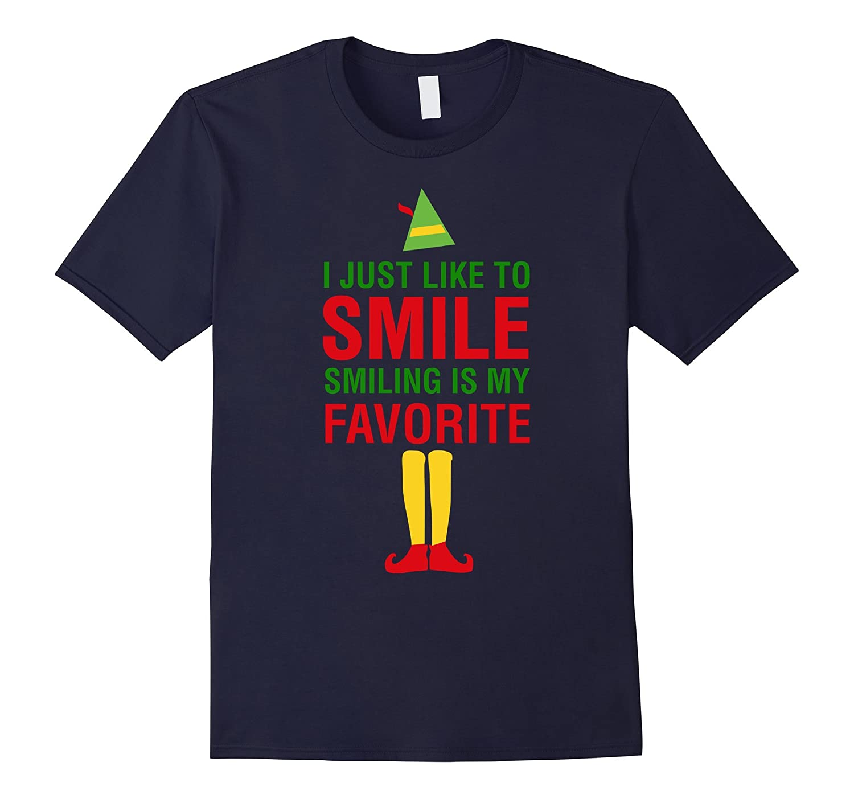 I Just Like to Smile, Smiling is my Favorite Christmas Shirt-Teevkd ...