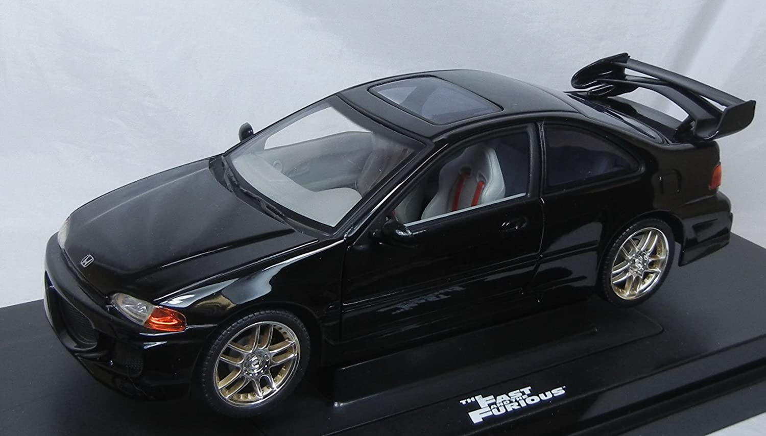 B000096PPJ The Fast and the Furious 1995 Honda Civic Diecast Race Car 1:18 Scale by Ertl [並行輸入品] 71nOxI0s04L.SL1500_