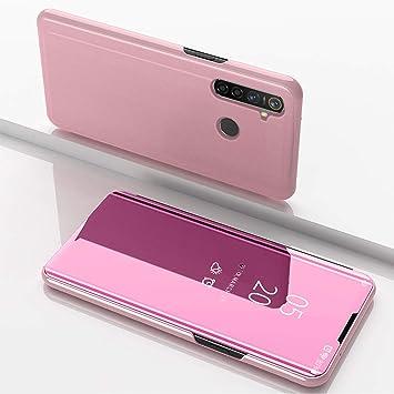 SHIEID Funda OPPO Realme 5 Pro Fundas Smart Mirror Cover Sleep ...