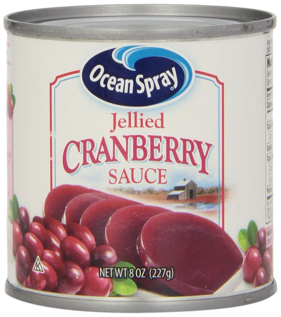 Ocean Spray Cranberry Jellied, 8-Ounce Cans (Pack of 24)