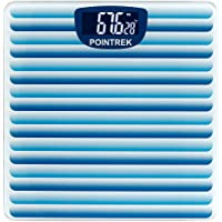 Pointrek Electronic Digital LCD Personal Health Body Fitness Weighing Scale (Stripes)