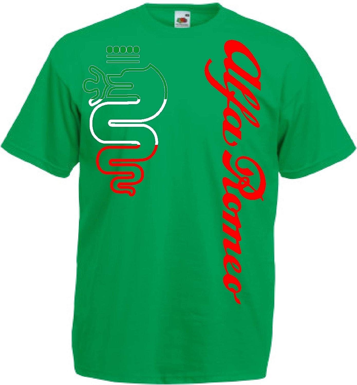 Generico t-Shirt Alfa Romeo World Rallye Team Car STI Tuner