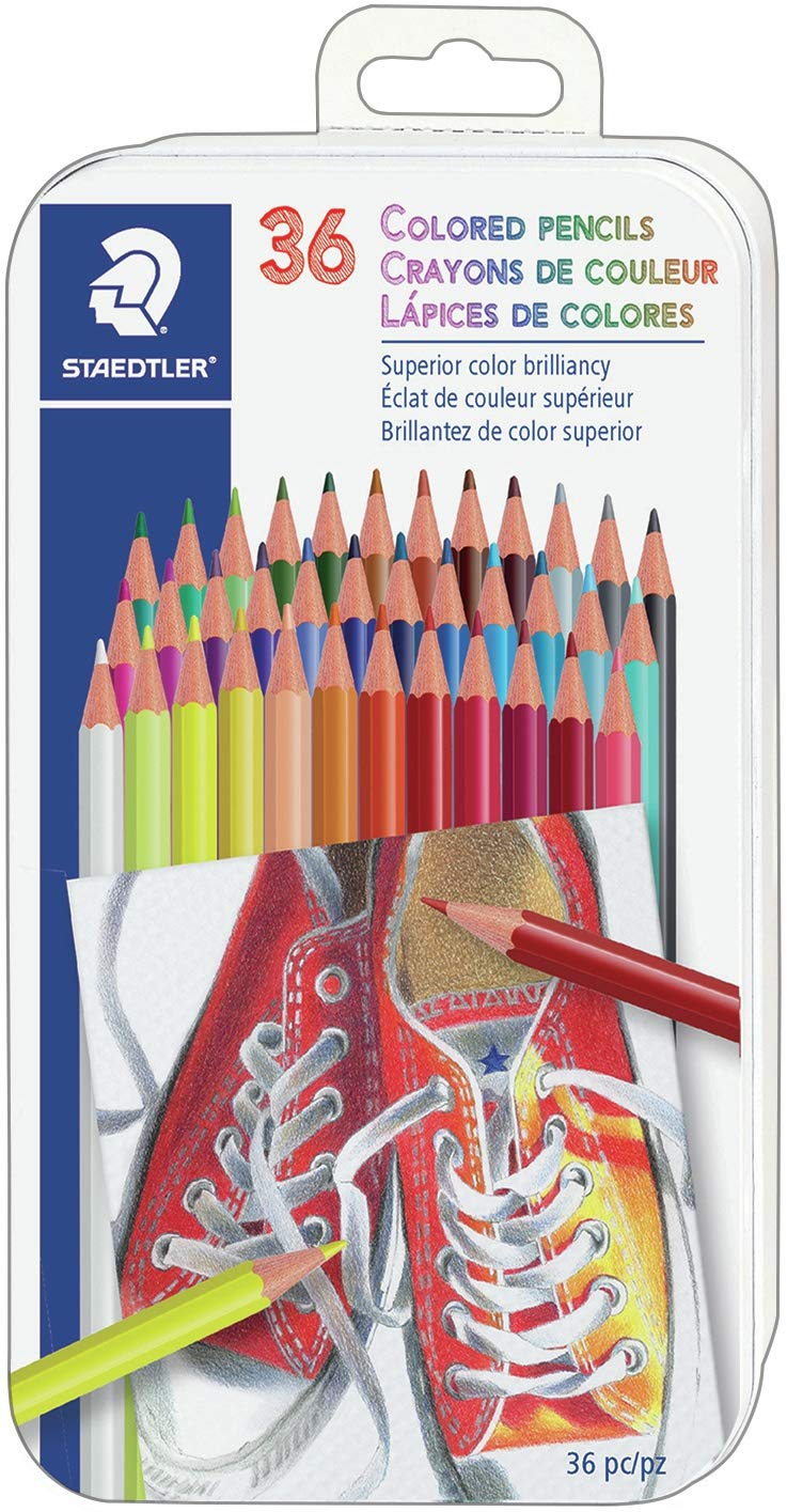 STAEDTLER 144ND36 Colored Pencils 36 Colors SET