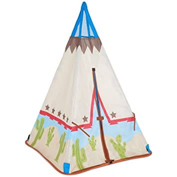 Early Learning Centre 138348 Cowboy Teepee Play Tent  sc 1 st  Amazon UK & Early Learning Centre 138348 Cowboy Teepee Play Tent: Amazon.co.uk ...