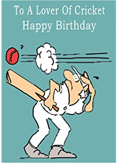 Cricket Happy Birthday Card
