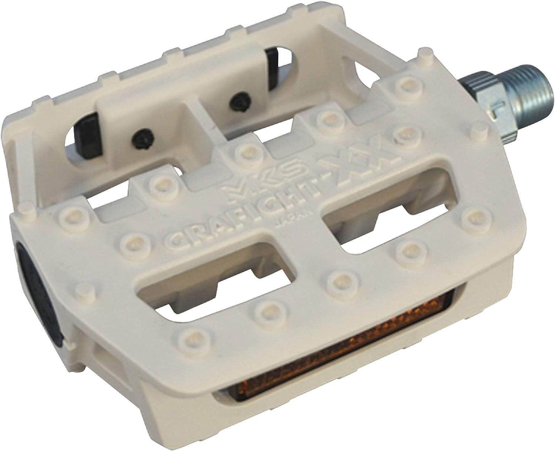 MKS FD-5 Folding Platform Pedal 9//16 Gray