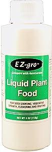 Liquid Plant Food for Aerogarden (4oz) | Liquid Fertilizer with Hydroponic Nutrients | Liquid Fertilizer for Plants in Aerogarden Sponges | Aerogarden Liquid Food Compatible | Hydroponic Fertilizer