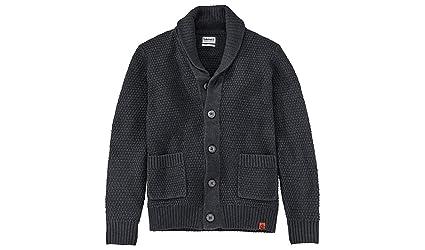 98ef70c39f3f Timberland Men s SOUHEGAN River Cardigan Sweater (Dark Charcoal Heather