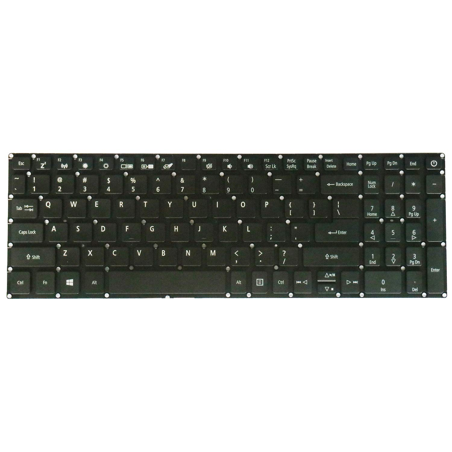 Teclado USA No retroiluminado para Acer Aspire 3 A315 Series