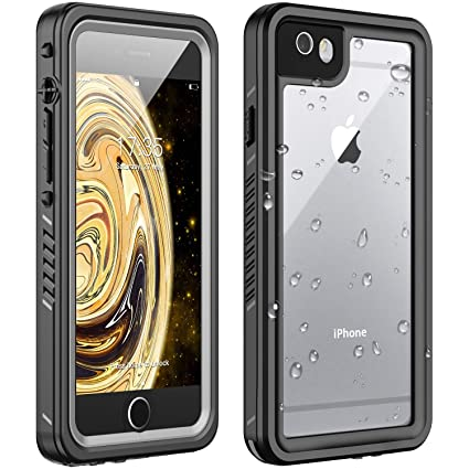 Amazon.com: Huakay - Carcasa impermeable para iPhone 6 y 6s ...
