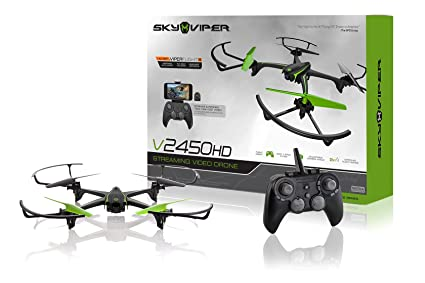 Sky Viper App >> Amazon Com Sky Viper V2450hd Streaming Drone With Flight Assist
