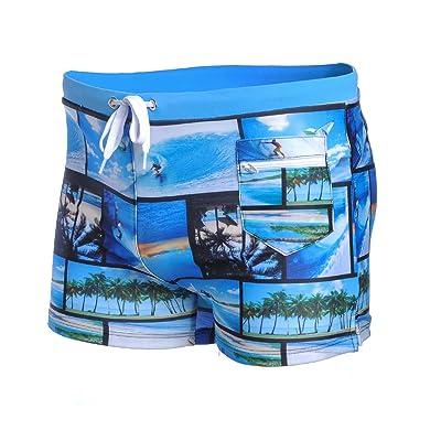 AA WIU American Tribal Mens Cool Quick Dry Swim Trunk Drawstring Beach Board Shorts Bathing Suit
