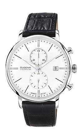 Dugena Premium 7000168 Lederarmband Chronograph mit Saphirglas
