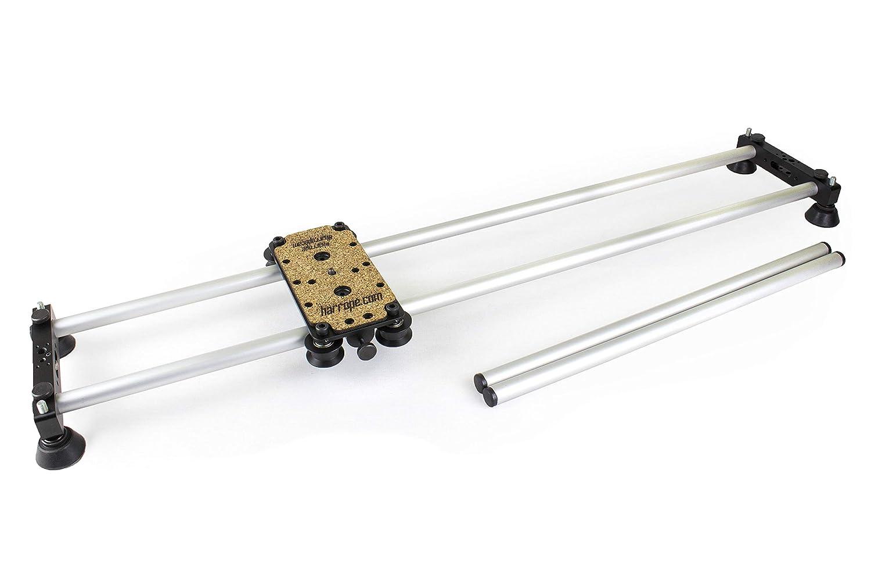 Harrope S2-Slider - Slider Profesional (2x1) para DSLR y Cualquier Camara. Movimiento Suave y Fluido. Se Puede Ampliar con un Motor para Timelapse y ...