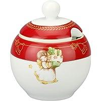 THUN ® - Zuccheriera in Porcellana - Linea Dolce Natale