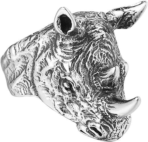 bague homme rhinoceros