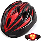 Kids Bike Helmet – Adjustable from Toddler to Youth Size, Ages 3 to 7 - Durable Kid Bicycle Helmets with Fun Racing Design Bo