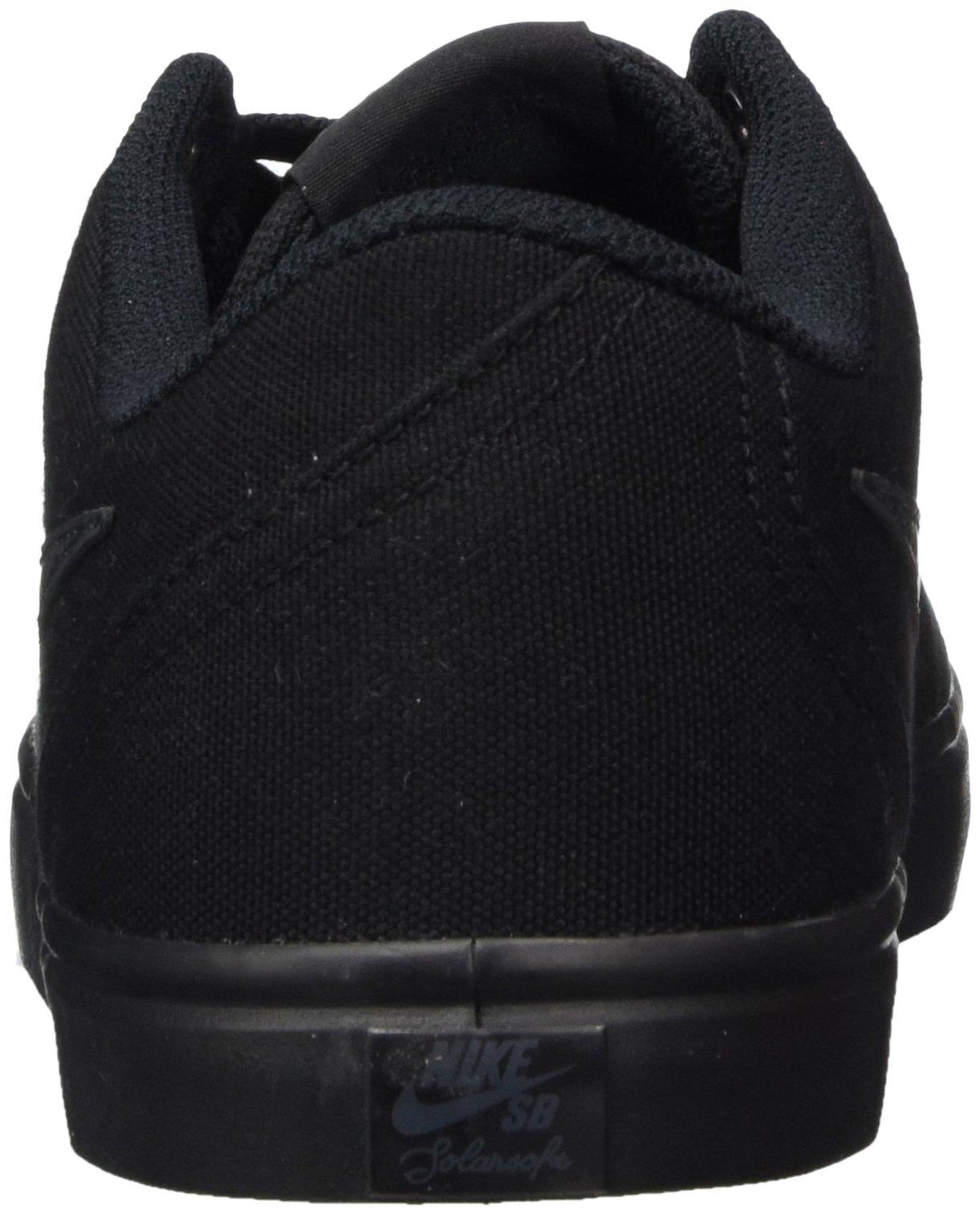 Nike Unisex SB Check Solar CNVS Black/Anthracite Skate Shoe 8.5 Men US / 10 Women US by Nike (Image #2)