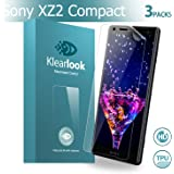 Sony Xperia XZ2 Compact Screen Protector, Klearlook 3-Pack [Full Coverage Design] Ultra Clear Edge to Edge Coverage TPU Screen Protector Film [Not Glass] for Front with [Entire Screen Cover] [Full Transparency] for Sony Xperia XZ2 Compact [Not for Sony Xperia XZ2]