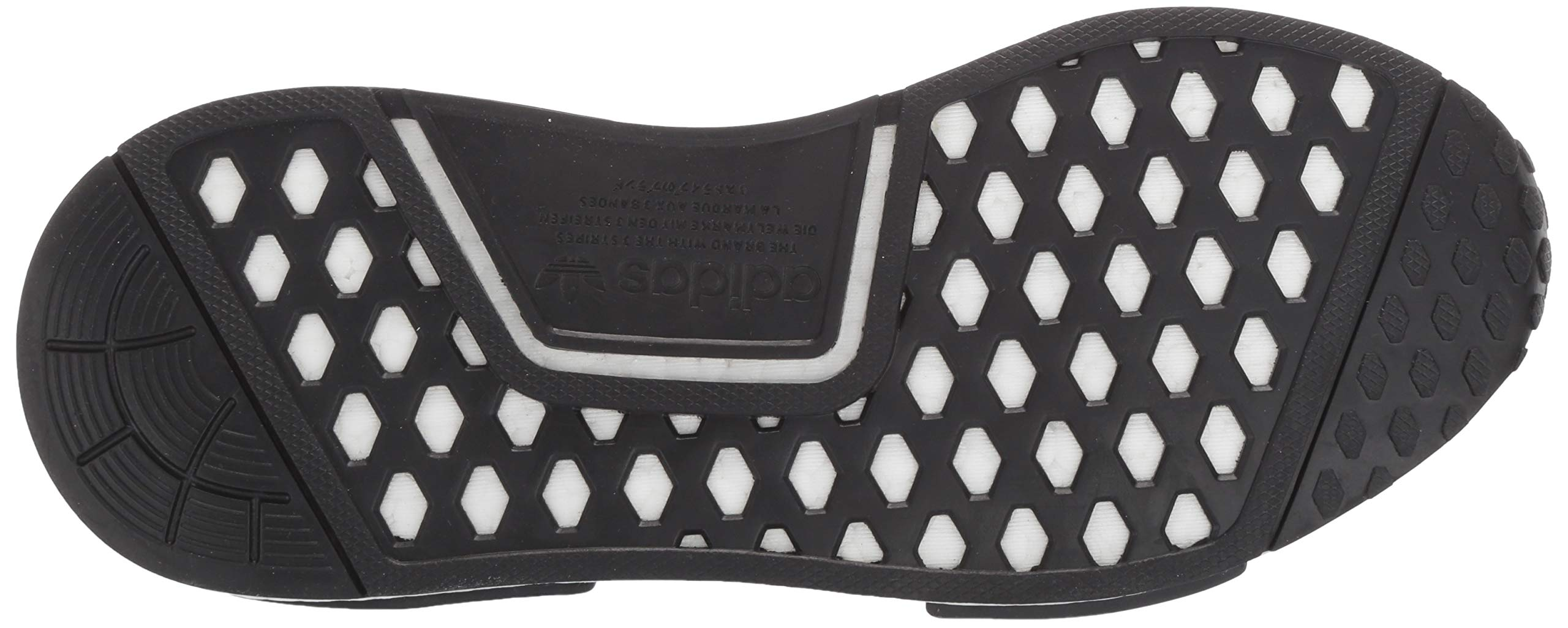 adidas Originals NMD_R1 Running Shoe True Blue/Utility Black, 3.5 M US Big Kid by adidas Originals (Image #3)