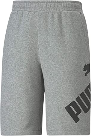 Puma Big Logo Pantalones cortos para hombre de 25,4 cm