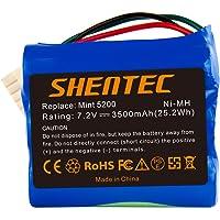 Shentec 7.2V 3500mAh vervangende batterij Compatibel met iRobot Mint 5200 Braava 380 380T 390 390T Mint 5200 5200B 5200C…