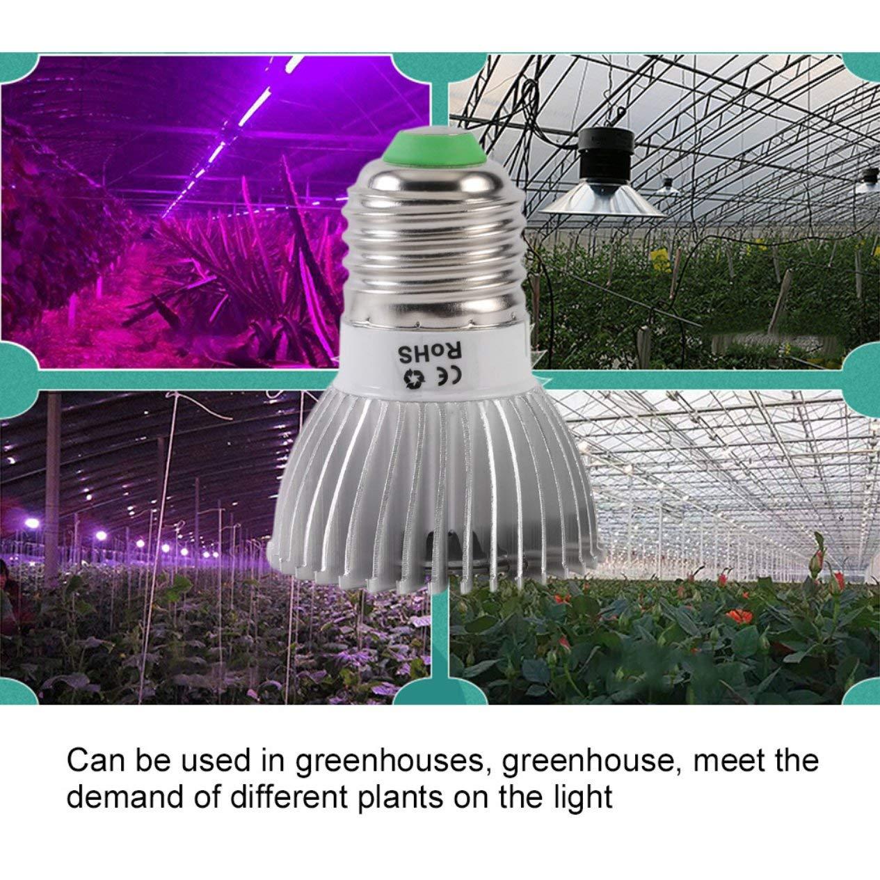 EdBerk74 LED pianta coltiva la Luce Spettro Completo 8 28w E27 pianta Che cresce Lampada idroponica per Serra Fiore Interno Scatola coltiva