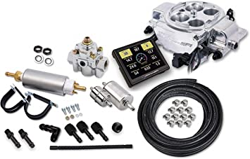 FAST 30226-06KIT EZ-EFI Self-Tuning Fuel Injection Kit Carb to EFI Touch Screen